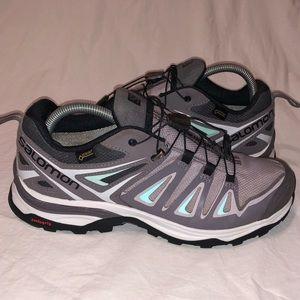 SALOMON X-Ultra 3 Low GTX Hiking Shoes Womens 8.5